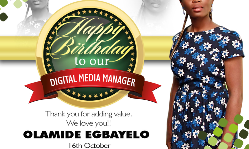 Rejoice with ME – Today is my Birthday
