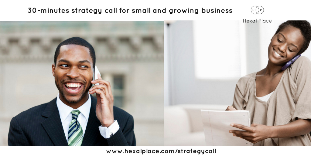 30 Minutes Strategy Call with Hexal Place