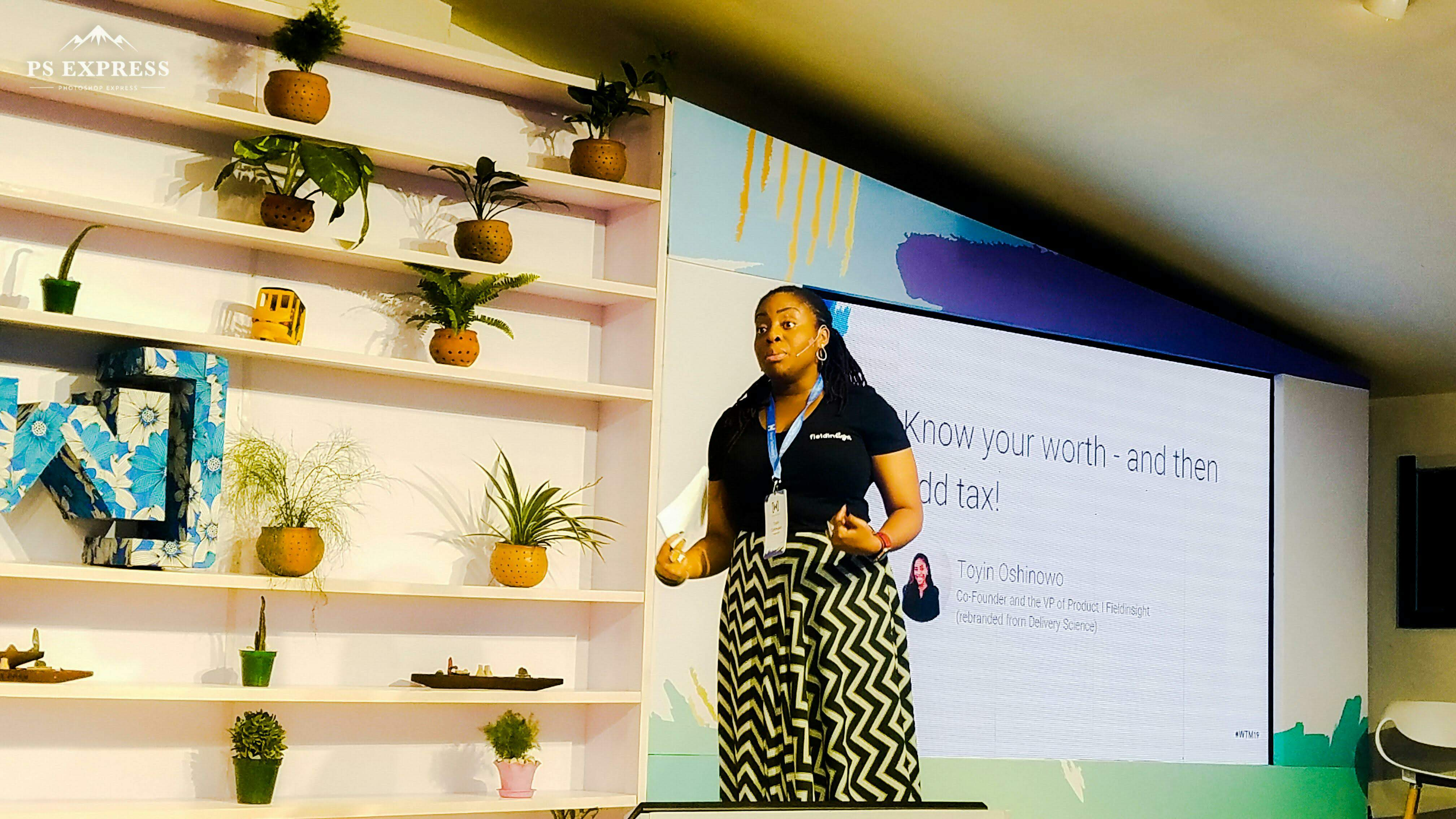 Toyin Oshinowo - Women Techmakers