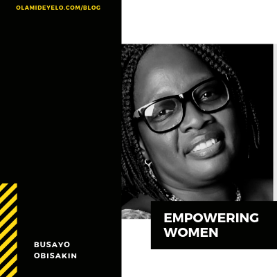 #TheWomenSeries:How WIDC helps women discover their purpose – Busayo Obisakin – Busayo Obisakin