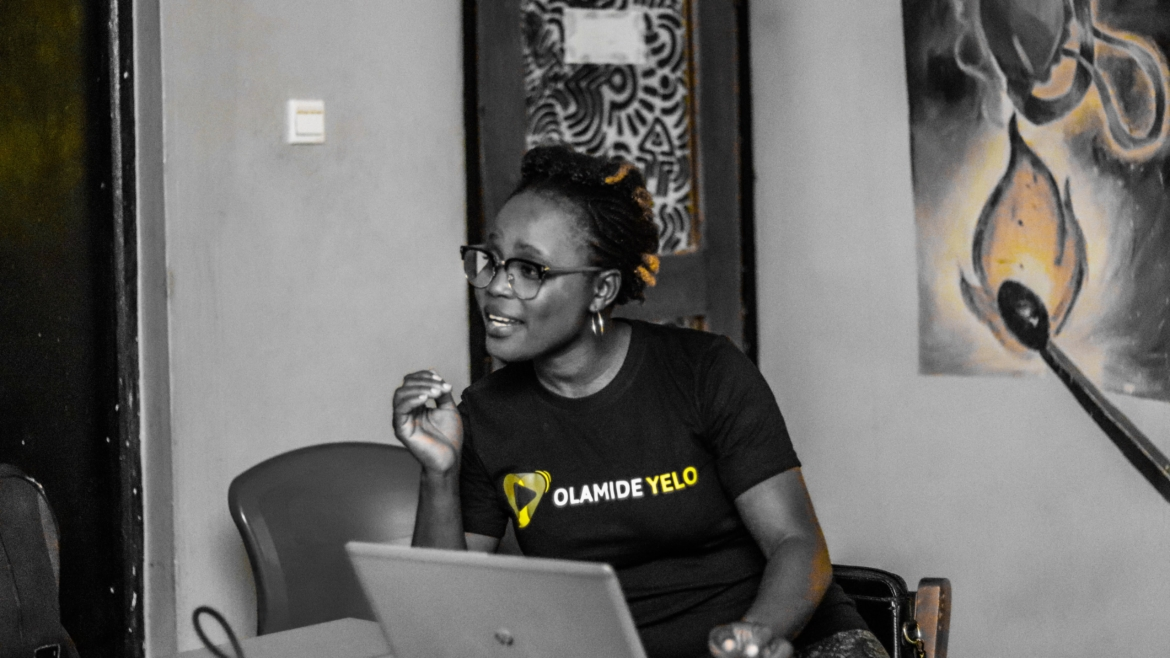 Meet Olamide, A Fellow Of The 7th Africa School Of Internet Governance
