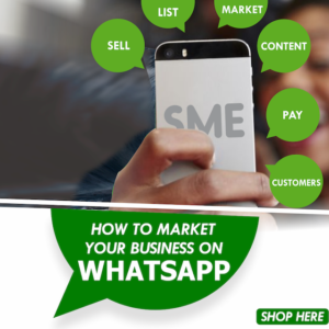 HOW TO MARKET YOUR BUSINESS ON WHATSAPP - OLAMIDE EGBAYELO