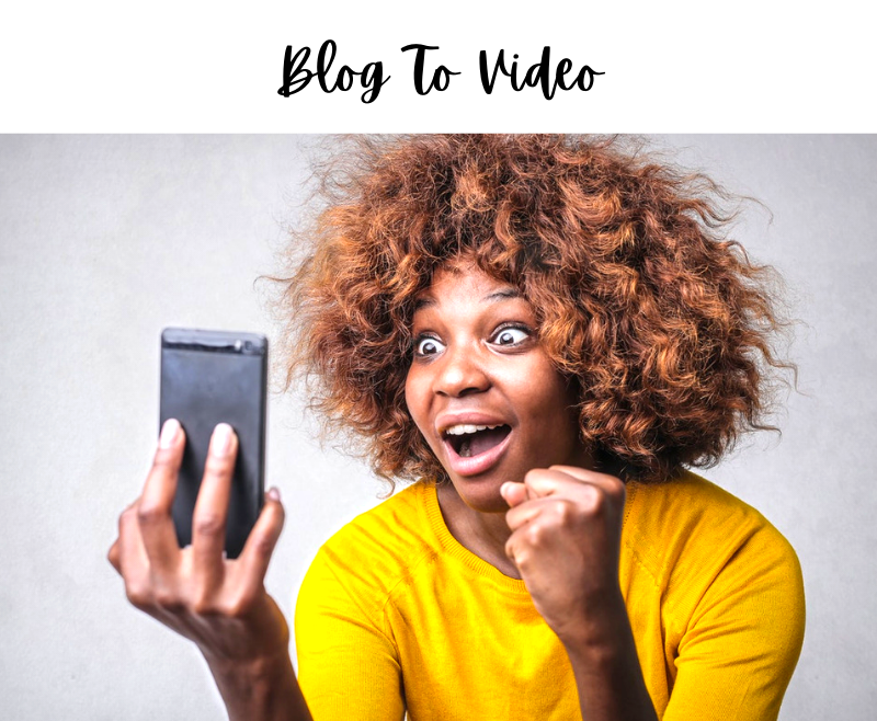 How To Turn Your Blogposts And Texts To Video With Lumen5
